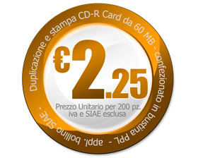 offerta cd audio